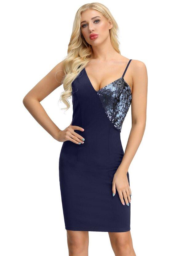 Rochie Margot albastru 6755