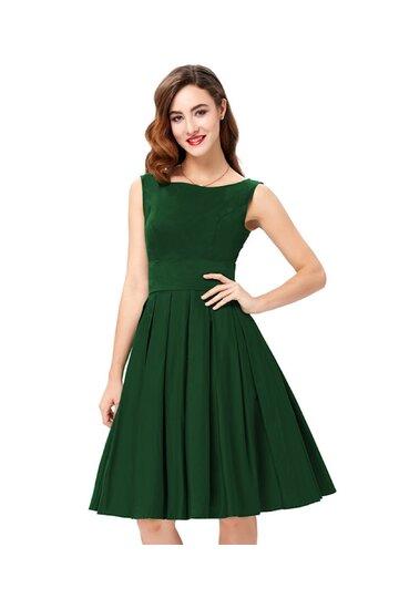 Rochie retro Maria verde