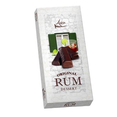 Batoane de ciocolata fondanta cu umplutura de rom Adria 120gr