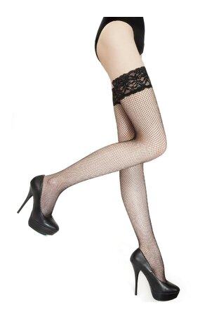 Ciorapi tip plasa, cu banda adeziva, Marie