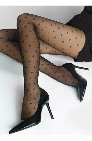 Ciorapi cu model Marilyn Flores Dots 02