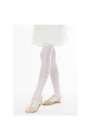 Ciorapi cu model pentru fetite Lily C86