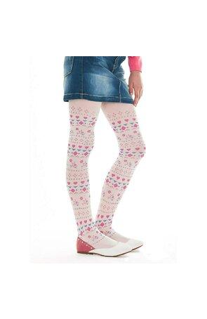Ciorapi cu model pentru fetite Pretty C84