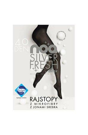 Ciorapi de dama, microfibra 40 den, Knittex Silver Fresh