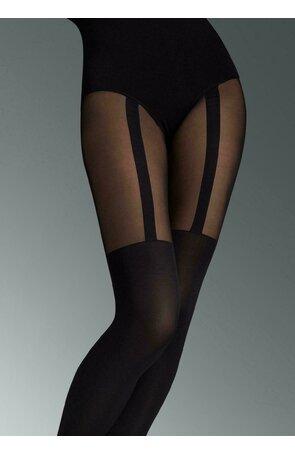 Ciorapi de dama imitatie portjartie Marilyn Zazu Line