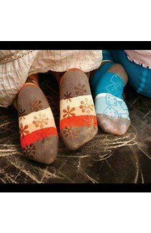Ciorapi pantalon flausati cu ABS pt baieti 534-013ABSB