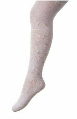 Ciorapi pantalon jacard din bumbac pentru fete 503-004