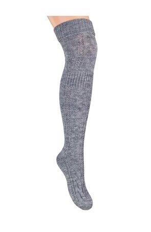 Ciorapi peste genunchi, din lana,  S089-12