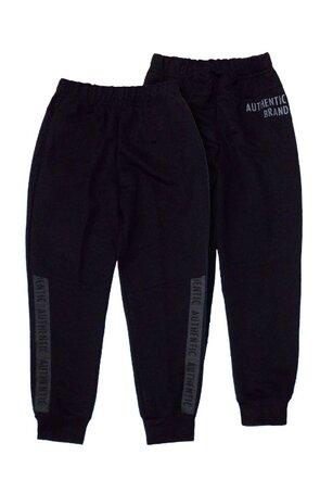 Pantaloni trening AJS Authentic pentru copii, Negru/Grafit/Jeans/Oliv/Granat