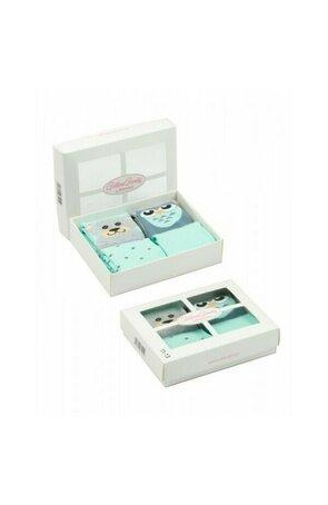 Sosete cu model pentru copii, in cutie cadou S144-B003