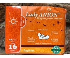 NATURAL ABSORBANTE CU ANIONI DAYLINER 15 BUC