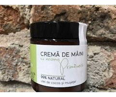 NATURAL CREMA DE MAINI CU AROMA PRIMAVERII 120 ML