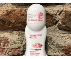 NATURAL DEO ROLL- ON SPRING FLOWERS CU ZAMBILE SI TUBEROZE 50 ML