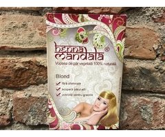 NATURAL HENNA MANDALA BLOND  145 GR