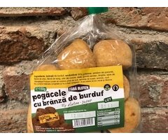 NATURAL POGACELE FARA GLUTEN CU BRANZA DE BURDUF 150 GR