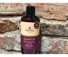 NATURAL SAMPON ANTICADERE CU ULEI DE RICIN 250 ML