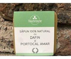 NATURAL SAPUN CU DAFIN SI PORTOCAL AMAR 110 GR