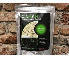 NATURAL SEMINTE DE CANEPA  DECORTICATE 1 KG