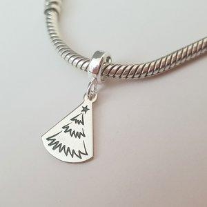 Charm personalizat Craciun - O brad frumos - Argint 925