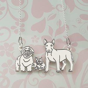 Lantisor 3 Animale - Argint 925