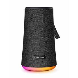 Boxa portabila wireless bluetooth Anker Soundcore Flare+ 25W 360° cu lumini LED, Negru