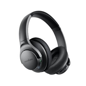 Casti Wireless Over-Ear Anker Soundcore Life Q20, Hybrid Active Noise Cancelling, Deep Bass, Negru