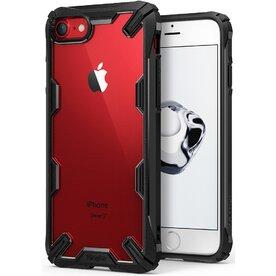 Husa iPhone 7/8, iPhone SE 2 Ringke FUSION X Transparent/Negru