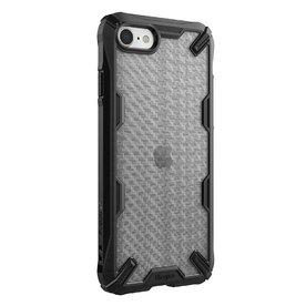 Husa iPhone SE 2 / iPhone 7 / iPhone 8 Ringke FUSION X Design Carbon Fiber Negru