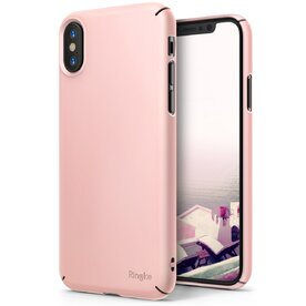 Husa Ringke iPhone X Slim Roz