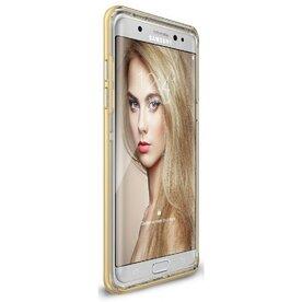 Husa Samsung Galaxy Note 7 Fan Edition Ringke FRAME ROYAL GOLD + BONUS folie protectie display Ringke