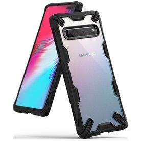 Husa Samsung Galaxy S10 5G Ringke FUSION X Transparent Negru
