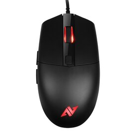 Mouse Gaming Abko Hacker A660, 10.000 DPI, RGB LED, Ergonomic Design, Negru