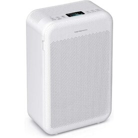 Purificator de Aer TaoTronics TT-AP003, CADR 384m3/h, Fitru Hepa 3 in 1, Filtrare 99.97 %, Senzor calitate aer, silentios, Alb