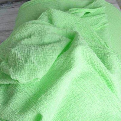 Cotton gauze Fabric- Anuca Mint