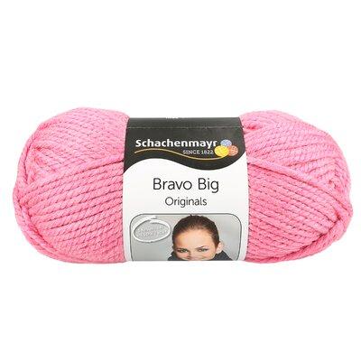 Acryl Yarn-Bravo Big- Rose Melange 00133