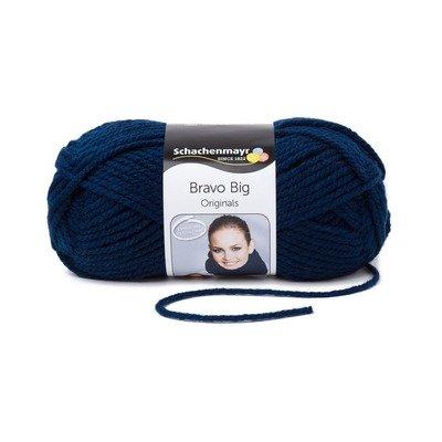 Acrylic Yarn-Bravo Big-Indigo 00150