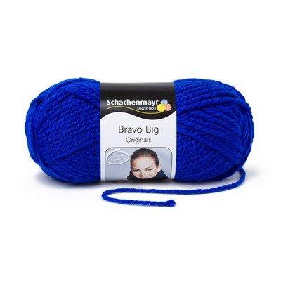 Acrylic Yarn-Bravo Big-Royal 00154