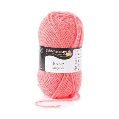 Acrylic yarn Bravo - Salmon 08342