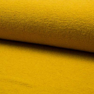 Boiled Wool Fabric - Corn