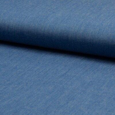 Cotton fabric - Chambrai Uni Light Blue