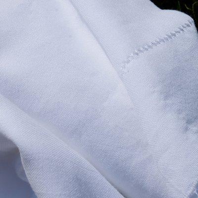Cotton Gauze Fabric - Calusar White