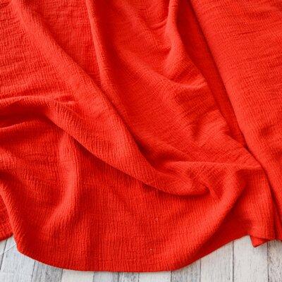 Cotton Gauze Petrisor - Red