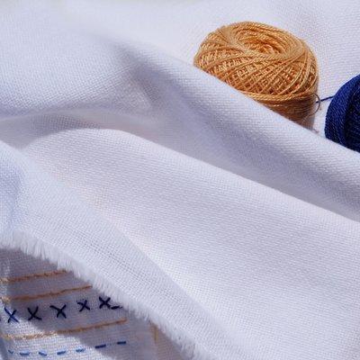 Cotton Gauze - Varvara White