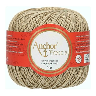 Crochet Thread - Anchor Freccia 12 culoare 00831