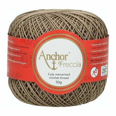 Crochet Thread - Anchor Freccia 6 culoare 00392
