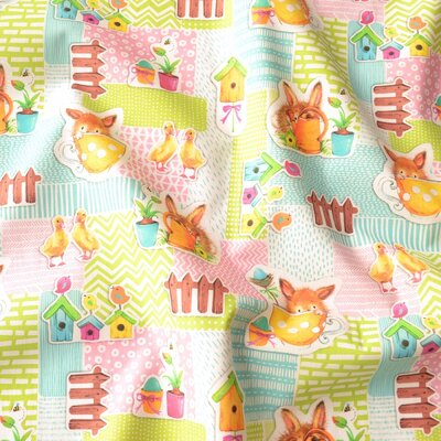 Digital print cotton - Binky