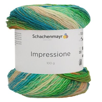 Gradient yarn Impressione - 00082 Spirit Color