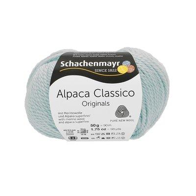Knitting Yarn - Alpaca Classico - Ice Blue 00056