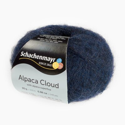 Knitting Yarn - Alpaca Cloud - Midnight 00050