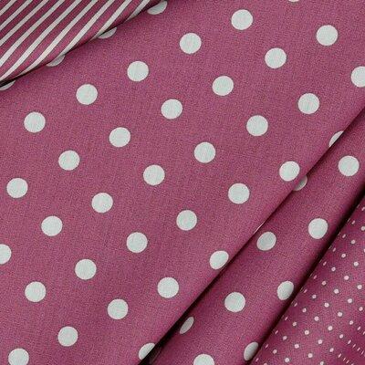 Printed Cotton - Dots Mauve